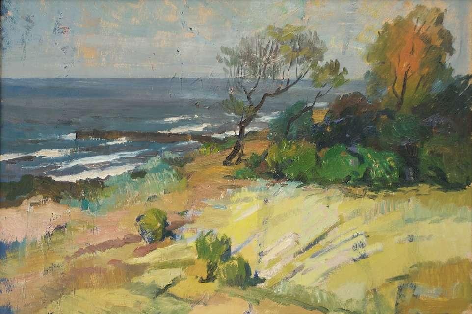 Sergejus Gračiovas (1922–1993)  Baltijos pakrantė XX a. 8 d–metis, kart., al., 40 x 60
