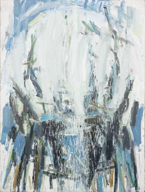 Kristina Mažeikaitė (g. 1987) Karaliaus mėlyna 2017, drobė, aliejus, 180 x 135